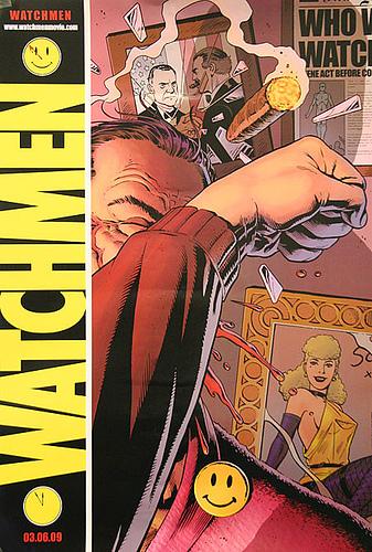 Póster Comic-Con para Watchmen